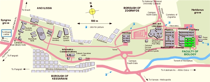 Uoa Faculty Of Biology Location Maps